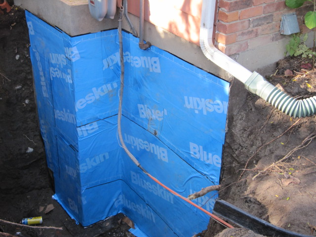 Foundation crack repair waterproofing contractors ottawa for Basement wrap